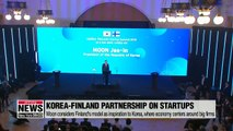 Korea-Finland agree on boosting cooperation on startup activities