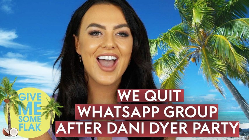 Love Island's Rosie Williams: 'Everyone QUIT our WhatsApp after Dani Dyer's party'