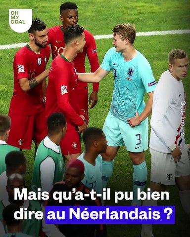 Matthijs de Ligt révèle ce que Ronaldo lui a dit après la finale de la Ligue des Nations
