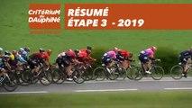 Résumé - Étape 3 - Critérium du Dauphiné 2019