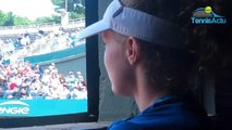 Roland-Garros 2019 - Carole Monnet, 17 ans, l'enfant adoptée, veut vivre son rêve... !