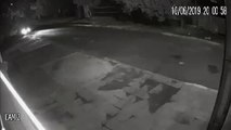 Vídeo registra carro suspeito de envolvimento com furto