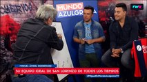 Miguel Ángel Rodríguez armó su equipo ideal de la historia de San Lorenzo
