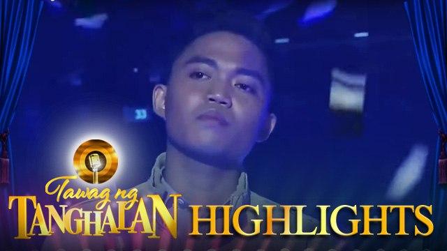 Perlray Ogue defends the golden microphone   Tawag ng Tanghalan