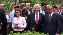 Kosovo honors Bill Clinton for ending ethnic cleansing on 20 year anniversary