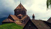 A fire hits a medieval Armenian monastery, a UNESCO World Heritage Site