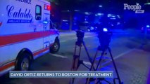 David Ortiz Moved from Dominican Republic to Boston to Receive Care for Gunshot Wound