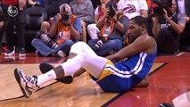 Kevin Durant ACHILLES INJURY - Game 5 - Warriors vs Raptors - 2019 NBA Finals
