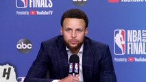 Stephen Curry Postgame Interview - Game 5 - Warriors vs Raptors - 2019 NBA Finals