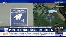 """La prise d'otage à Condé-sur Sarthe a eu lieu """"au moment du repas"""" d'après Frédéric Eko, syndicaliste de la prison"""
