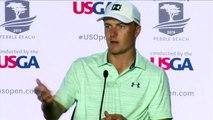 Jordan Spieth speaks ahead of the U.S. Open