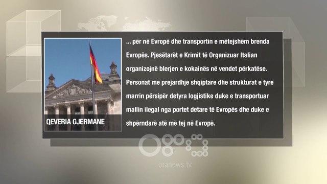 RTV Ora - Qeveria gjermane: Mafia italiane përdor banda shqiptare për trafikun e kokainës