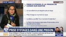 Ce que l'on sait de la prise d'otage en cours à la prison de Condé-sur-Sarthe