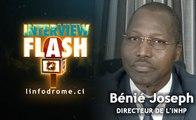 Interview Flash : Lutte contre la Dengue, Pr Bénié Bi Vroh Jospeh, Directeur de l'Inhp