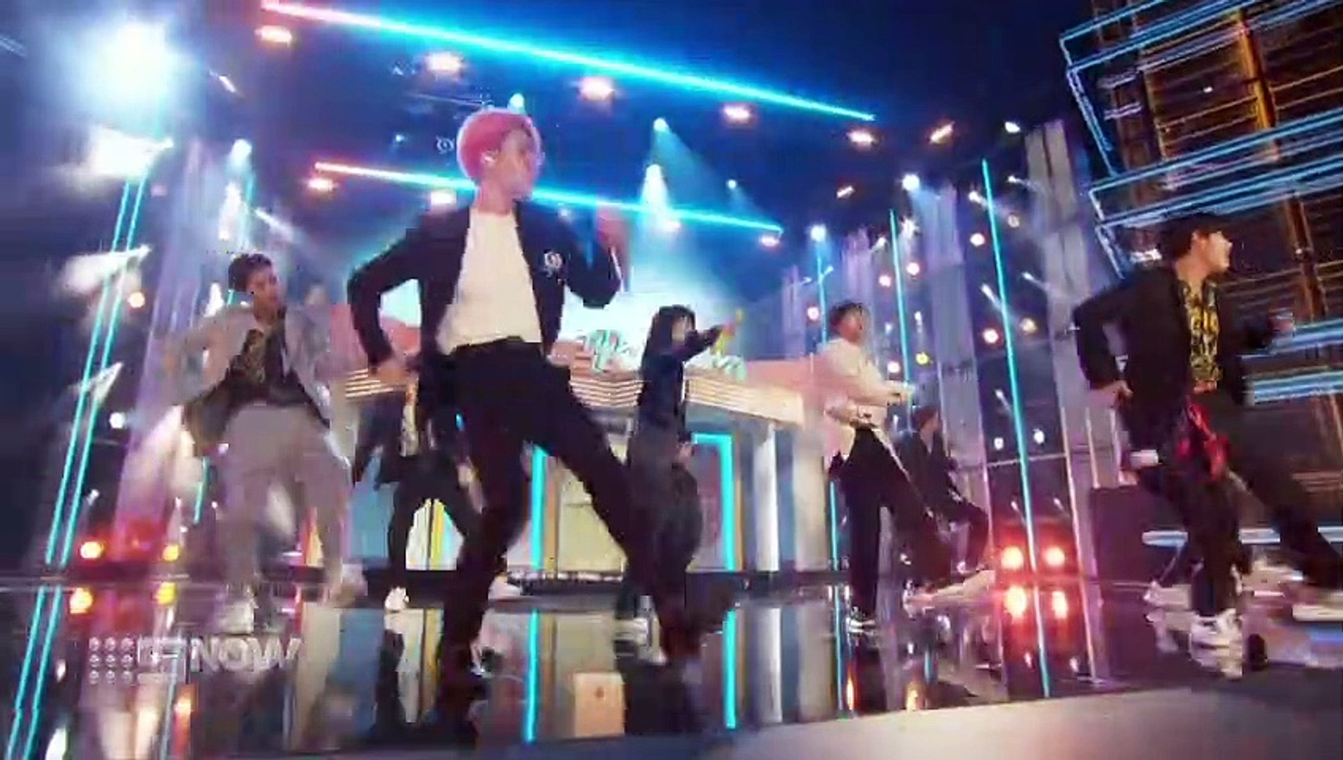 BTS perform Boy With Luv featuring Halsey at the 2019 Billboard Music Awards