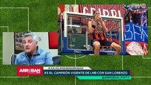 """Julio Lamas: """"Con Herrmann no tengo ningún problema. Tenemos visiones distintas sobre la renovación con San Lorenzo, nada más"""" - Arroban #179"""