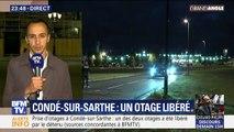 Condé-sur-Sarthe: Un otage libéré