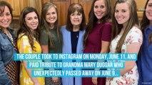 Josiah and Lauren Duggar's Tribute to Grandma Mary Includes Nod to Asa