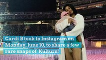 Cardi B Shares 2 Rare Photos of Kulture and Daddy Offset Says She's 'Perfect'