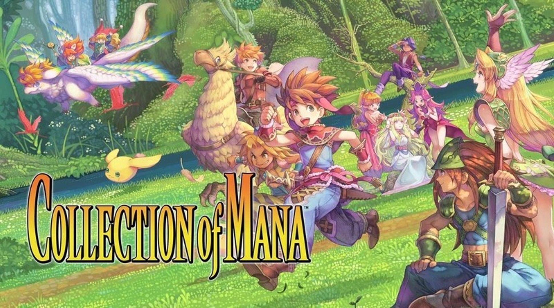 Collection of Mana - - Nintendo Switch Trailer - Nintendo E3 2019