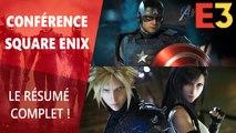 E3 2019 : Résumé de la conférence Square Enix