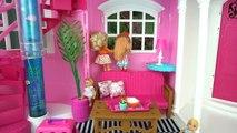 Bebes de Elsa y Anna Cuidan a la Gatita Traviesa de Barbie - Gatita Pis Pis Juguetes de Titi