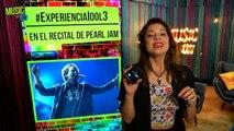¡Te mostramos el recital de Pearl Jam con el Alcatel Idol 3! - MusicOn 23