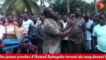 Des jeunes proches d'Hamed Bakayoko versent du sang devant le domicile de Bédié