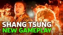Mortal Kombat 11 Shang Tsung - New Gameplay | E3 2019