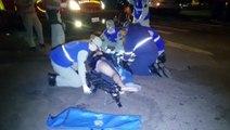 Motociclista tem lesão grave após colisão na Região Central