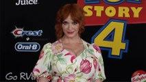 "Christina Hendricks ""Toy Story 4"" World Premiere Red Carpet"
