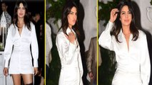 Priyanka Chopra looks hot in white dress at The Sky is Pink wrap party; Watch  Video | Boldsky