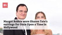Margot Robbie Wore Sharon Tate's Actual Earrings