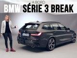 A bord de la BMW Série 3 Touring (2019)