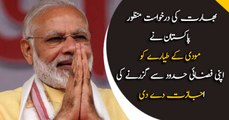Pakistan allows India's Modi to use it's airspace