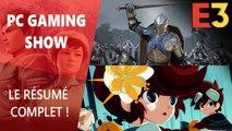 E3 2019 : Résumé du PC Gaming Show