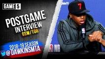 Kyle Lowry Postgame Interview - Game 5 - Raptors vs Warriors - 2019 NBA Finals