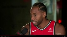 Kawhi Leonard FULL INTERVIEW with Kate Beirness