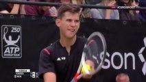 ATP250 Stuttgart 2016 SF Federer   Thiem Highlights HD