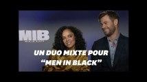 """Avec """"Men in Black"""" Tessa Thompson et Chris Hemsworth espèrent """"banaliser l'égalité des genres"""""""