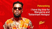 Patoranking shares his support for Wanyama and talks about 'Wilmer' his latest album