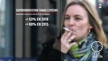 Santé : les jeunes de moins en moins accrocs au tabac