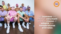 Tendance de l'été : les chemisettes et shorts en dentelle pour les hommes !