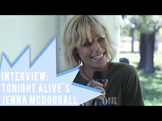 Interview with Jenna McDougall of Tonight Alive