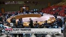 U.S., allies accuse North Korea of violating U.N. cap on fuel imports