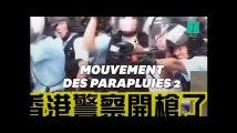 À Hong Kong, de violents affrontements entre police et manifestants