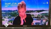 La présentatrice du JT fond en larmes en direct après avoir diffusé le reportage de France 2 sur ce vétéran qui retrouve son amour de jeunesse 75 ans après