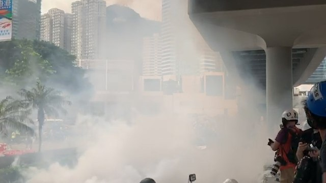 Anti-extradition bill protest turns violent in Hong Kong