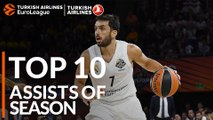 2018-19 Turkish Airlines EuroLeague: Top 10 Assists!