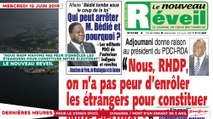 """Le Titrologue du 12 Juin 2019 : """"Nous RHDP n'avons pas peur d'enrôler les étrangers pour constituer notre électorat"""""""